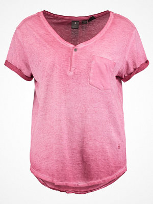 G-Star GStar SUNDU GRANDDAD T S/S Tshirt med tryck light garnet