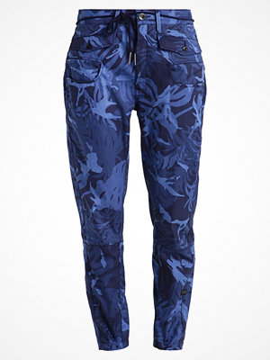 G-Star GStar ARMY RADAR LOOSE TAPERED HW SO AOP  Tygbyxor sartho blue ao marinblå med tryck