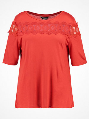 Dorothy Perkins Curve Tshirt med tryck coral