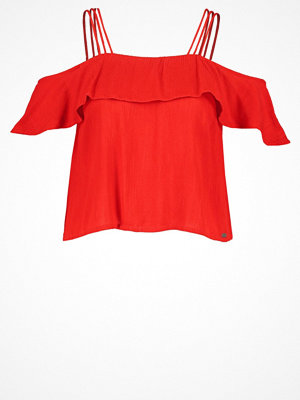Superdry PEEKABOO PALM Blus urban red
