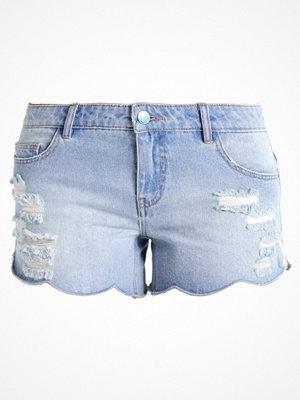 Shorts & kortbyxor - Only ONLCARMEN Jeansshorts light blue denim