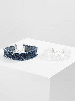 Smycken - Topshop Halsband blue