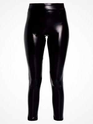 Miss Selfridge METALIC Leggings black