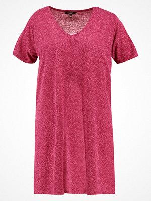 New Look Curves BOYFRIEND FIT Tshirt med tryck deep pink