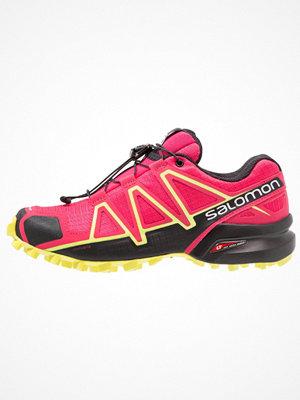 Sport & träningsskor - Salomon SPEEDCROSS 4 Löparskor terräng virtual pink/black/sulphur spring