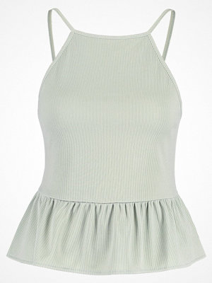 Miss Selfridge PEPLUM CAMI Linne light green