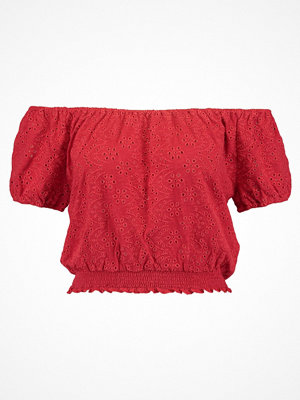 Hollister Co. AMERICANA  Tshirt med tryck red