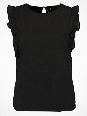 Vero Moda VMVEGAS FRILL Blus black