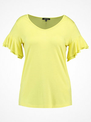 More & More Tshirt med tryck soft yellow