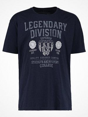 Kitaro Tshirt med tryck navy