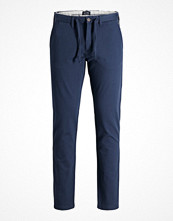 Byxor - Jack & Jones CHINO MARCO CUBA AKM 959 Chinos dark blue