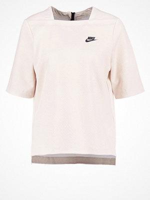 Nike Sportswear Tshirt med tryck oatmeal/black