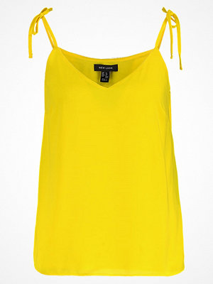 New Look CHLOE TIE STRAP Linne yellow