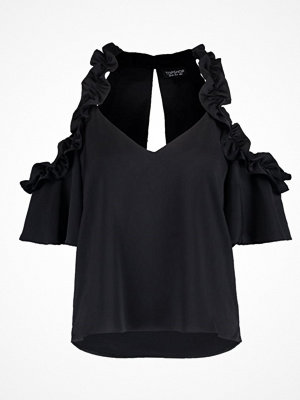 Topshop Blus black