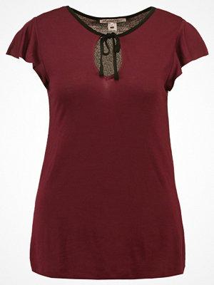 Anna Field Tshirt med tryck zinfandel