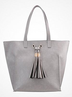 Handväskor - Anna Field Shoppingväska grey