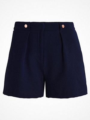 Shorts & kortbyxor - Topshop RITA RIVET Shorts navyblue