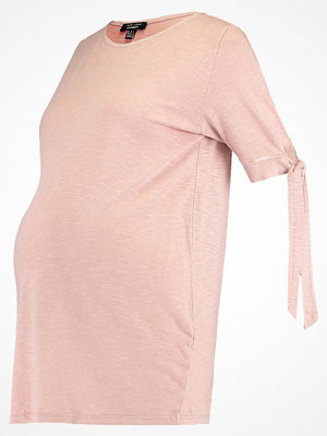 New Look Maternity Tshirt med tryck mid pink