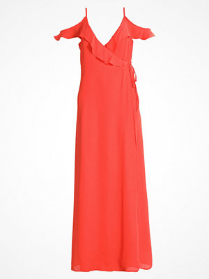 Fashion Union EBONY WRAP  Maxiklänning orange