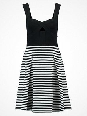 Anna Field Jerseyklänning white/black