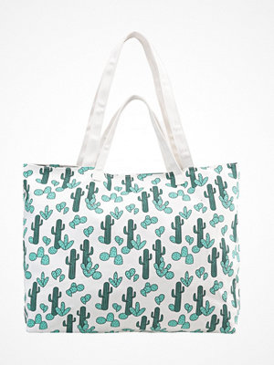 Handväskor - Even&Odd Shoppingväska green