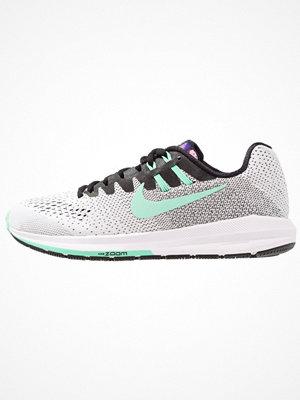 Nike Performance AIR ZOOM STRUCTURE 20 SOLSTICE Löparskor stabilitet black/green glow/court purple