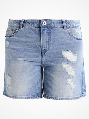 Shorts & kortbyxor - Only ONLBROOKY Jeansshorts light blue denim