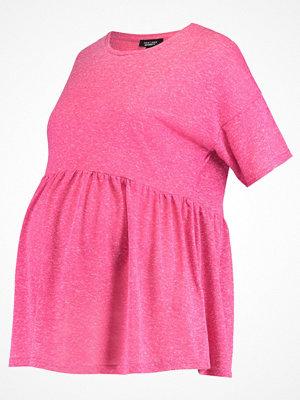 New Look Maternity Tshirt bas bright pink