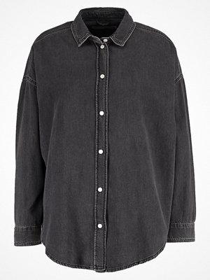 Skjortor - Topshop ELTON Skjorta washedblack
