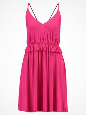 Even&Odd Jerseyklänning pink