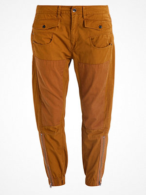 G-Star GStar ARMY RADAR MIX LOOSE CROPPED PANT  Tygbyxor oxide ocre