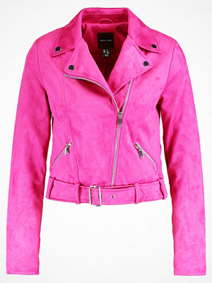 New Look DEMI Jacka i konstläder bright pink