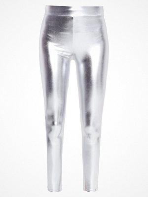Miss Selfridge METALIC Leggings grey
