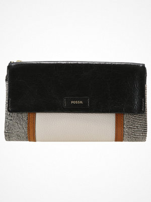Plånböcker - Fossil ELLIS CLUTCH Plånbok black