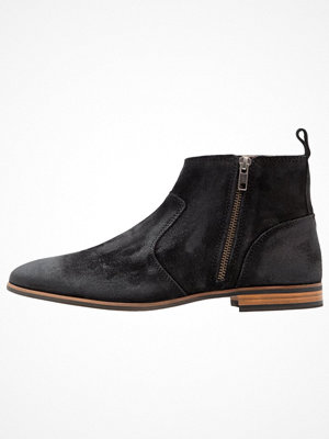 Boots & kängor - Topman NEW ALBION ZIP Stövletter black