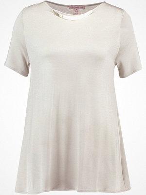 Anna Field Tshirt med tryck beige