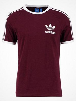 Adidas Originals CALIFORNIA Tshirt med tryck maroon
