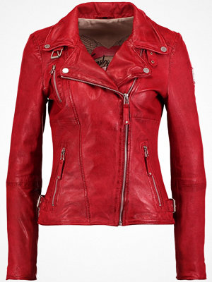 Freaky Nation BIKER PRINCESS Skinnjacka red