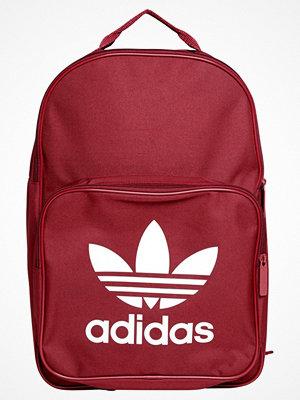 Adidas Originals Ryggsäck red mörkröd med tryck