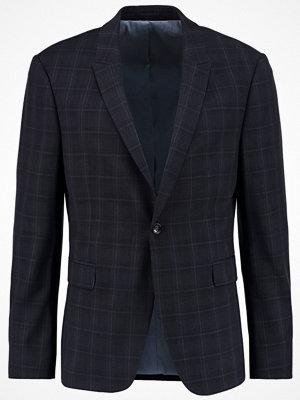 Kavajer & kostymer - Topman CHECK ULTRA MUSCLE FIT Kavaj dark blue