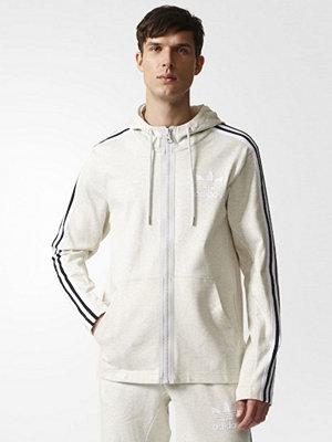 Street & luvtröjor - Adidas Originals Sweatshirt white