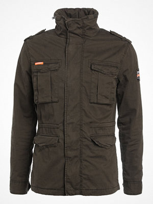 Superdry CLASSIC ROOKIE Tunn jacka forest khaki