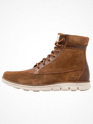 Boots & kängor - Timberland BRADSTREET SLOUCH Snörstövletter dark rubber