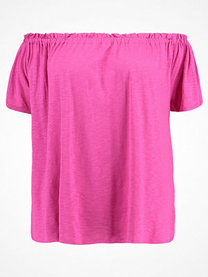 New Look Curves Blus bright pink