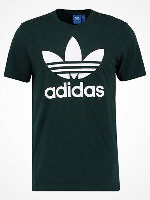 Adidas Originals ORIGINAL TREFOIL Tshirt med tryck dark green