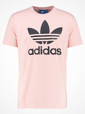 Adidas Originals ORIGINAL TREFOIL Tshirt med tryck pink/black