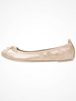 Anna Field Ballerinas gold