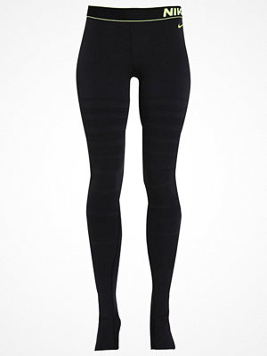 Sportkläder - Nike Performance Tights black/volt