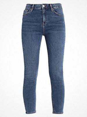 Topshop TUCAN HEM JAMIE Jeans Skinny Fit middenim