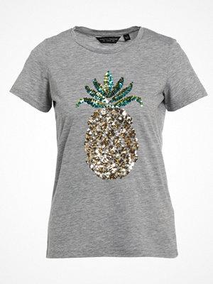 Dorothy Perkins SEQUIN Tshirt med tryck grey